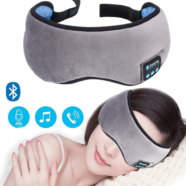 4ee0ffc122b Eye Mask Sleep Cover Bluetooth Sleepphones Mask Noise Cancelling For  Sleeping