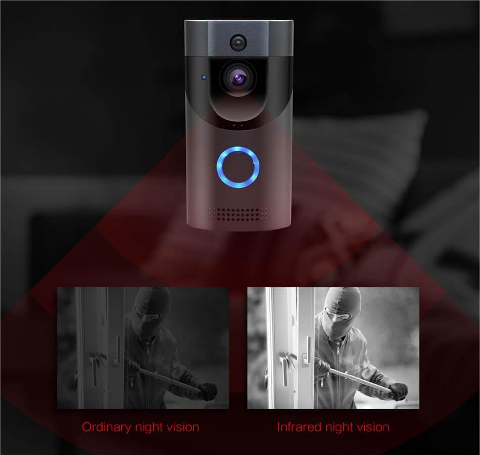 peephole camera wifi