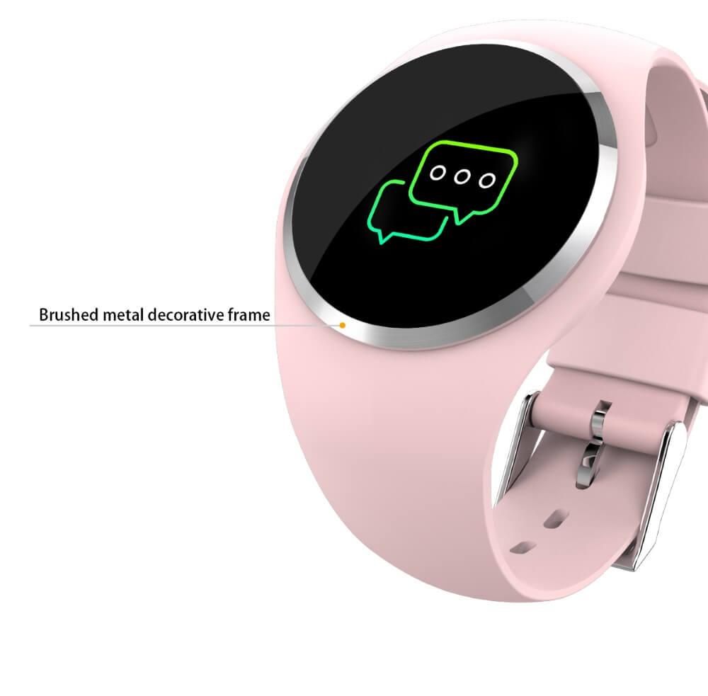 DIGOOR Fashion Smart watch women IP67 waterproof Support Blood pressure Blood oxygen Heart Rate Monitor Activity tracker Fitness bracelet Smartwatch Lady (18)