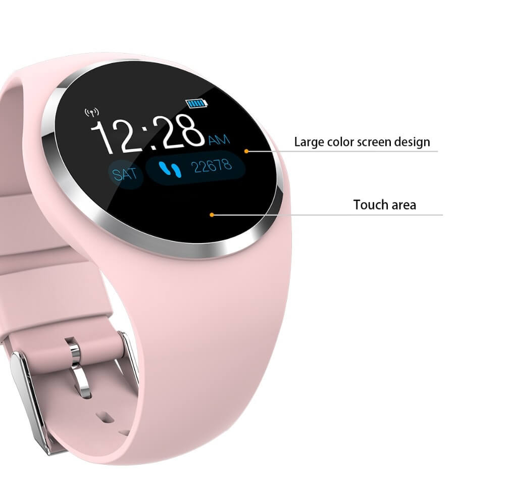 DIGOOR Fashion Smart watch women IP67 waterproof Support Blood pressure Blood oxygen Heart Rate Monitor Activity tracker Fitness bracelet Smartwatch Lady (17)